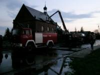 Akcja gaszenia pożaru. Szynkielów
