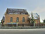 Odbudowa kościała. Szynkielów. 23.05.2007 r.