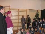 Wizyta Jego Ekselencji Księdza Arcybiskupa Stanisława Nowaka. Szynkielów. 9.12.2007 r.
