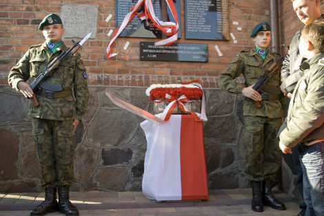 Świeto Odzyskania Niepodległości. Uroczystość upamiętnienia ofiar II wojny światowej. fot. Bartosz Koła