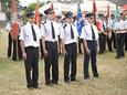 Uroczystość 90-cia lecia Ochotniczej Straży Pożarnej w Szynkielowie (13.07.2008 r.).