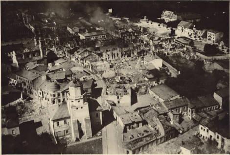 Tu rozpoczęła się wojna - 1 wrzesień 1939 roku, godz 4:40 rano. Bombardowanie Wielunia
