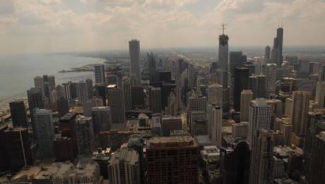 Listy nadesłane. Panorama Chicago